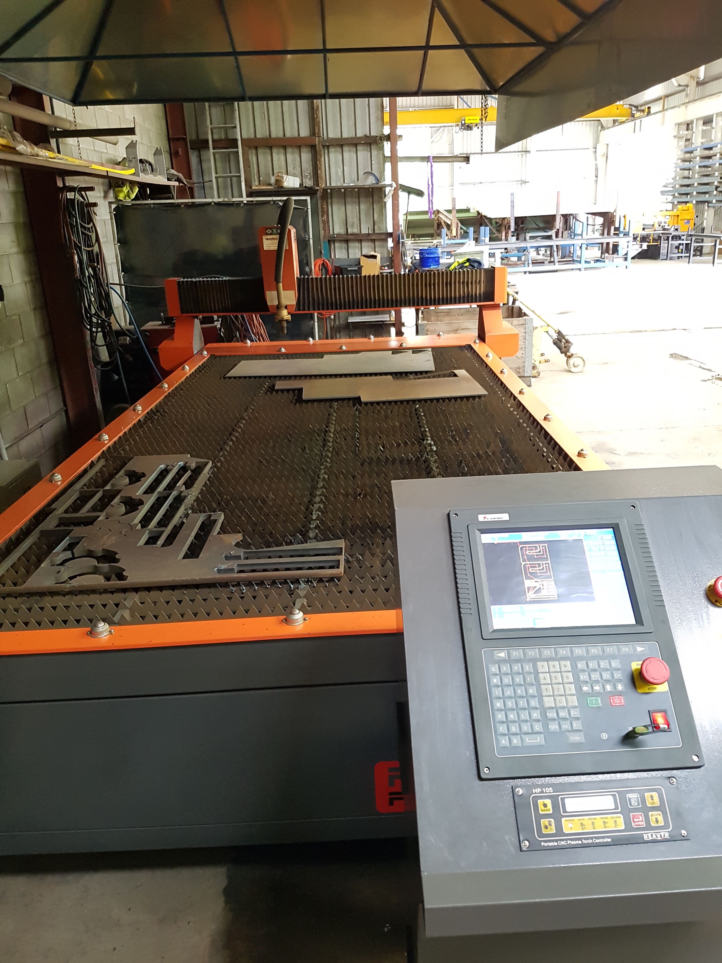 swift machine cut table plasma automation cnc cutting